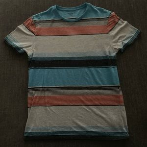 Mossimo Supply Co. Striped Crew Neck T-Shirt
